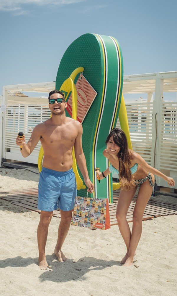 Territorio Havaianas_Havaianas On The beach Italy