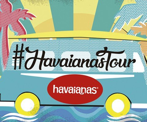 THE HAVAIANAS ROUTE