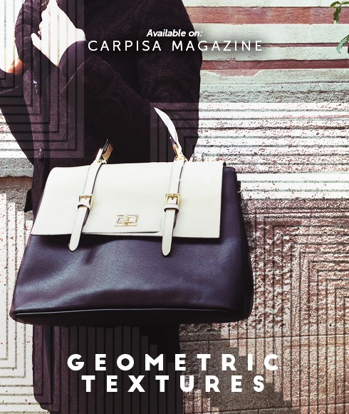 Geometric textures: refined expressions for everyday accessories