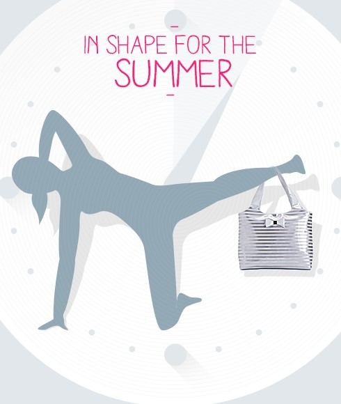 In shape for the summer - 4 exercises to have beautiful legs